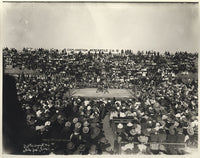 GANS, JOE-BATTLING NELSON ORIGINAL ANTIQUE PHOTO (1906)