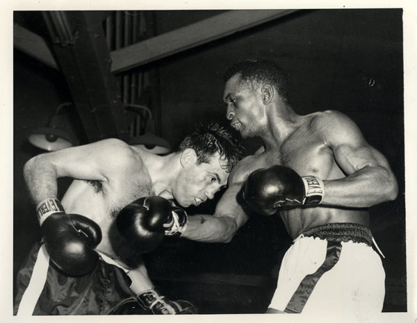 DEMARCO, PADDY-ORLANDO ZULUETA WIRE PHOTO (1953)
