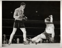 LOUIS, JOE-TONY GALENTO WIRE PHOTO (1939-2ND ROUND)
