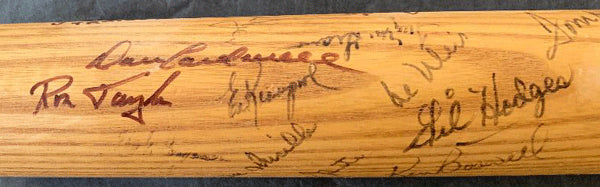 1969 NEW YORK METS TEAM SIGNED BAT (PSA/DNA & JSA)