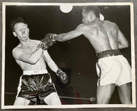 BRATTON, JOHNNY-CHARLEY FUSARI ORIGINAL LARGE FORMAT WIRE PHOTO (1951)