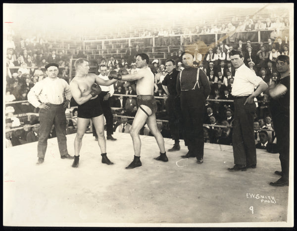 HART, MARVIN-MIKE SCHRECK ORIGINAL PHOTO (1909-SQUARING OFF)