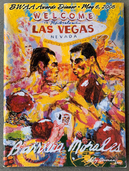 2005 BOXING WRITERS ASSOCIATION AWARDS PROGRAM (BARRERA-MORALES FIGHT)