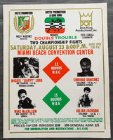 MCCALLUM, MIKE-JULIAN JACKSON ON SITE POSTER (1986)