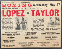 LOPEZ, YAQUI-WILLIE TAYLOR ON SITE POSTER (1981)