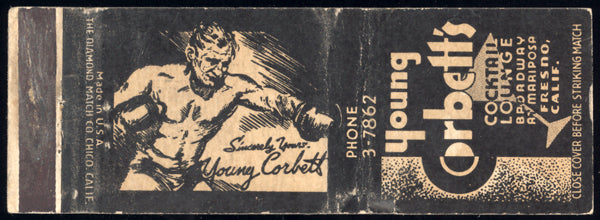 CORBETT III, YOUNG COCTAIL LOUNGE MATCHBOOK