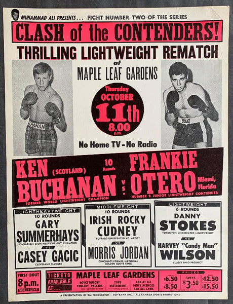 BUCHANAN, KEN-FRANKIE OTERO ON SITE POSTER (1973)