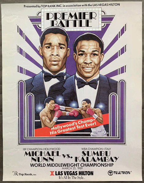 NUNN, MICHAEL-SUMBU KALAMBAY ON SITE POSTER (1989)