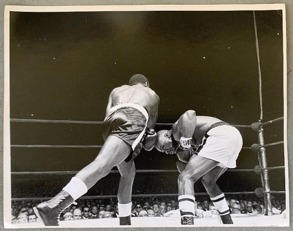 "TIGER, DICK-RUBIN ""HURRICANE"" CARTER ORIGINAL PHOTO (1965)"