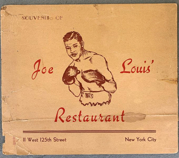 LOUIS, JOE RESTAURANT SOUVENIR PHOTO HOLDER