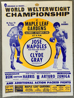 NAPOLES, JOSE-CLYDE GRAY BROADSIDE (1973)