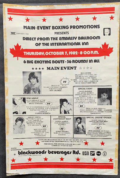 LALONDE, DONNY-FRANK LUX ON SITE POSTER (1982)