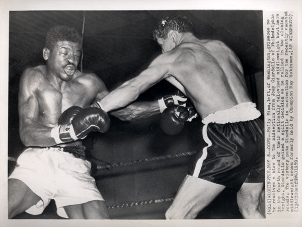 GIARDELLO, JOEY-HOLLY MIMS WIRE PHOTO (1959-4TH ROUND)