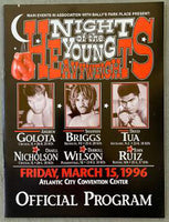 NIGHT OF YOUNG HEAVYWEIGHTS ON SITE POSTER (1996-TUA, GOLOTA, GRANT, BRIGGS)