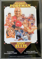 FOREMAN, GEORGE-JIMMY ELLIS ON SITE POSTER (1991)