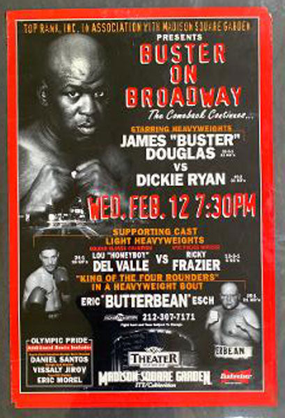 "DOUGLAS, JAMES ""BUSTER""-DICKIE RYAN ON SITE POSTER (1997)"
