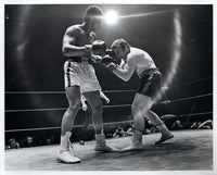 ALI, MUHAMMAD-GEORGE CHUVALO II ORIGINAL PHOTO (1972)