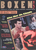KLITSCHKO, WLADIMIR-MARCUS MCINTYRE OFFICIAL PROGRAM (1998)