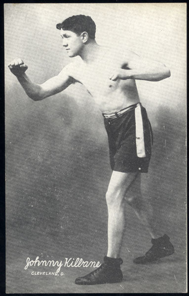 KILBANE, JOHNNY EXHIBIT CARD (1923)