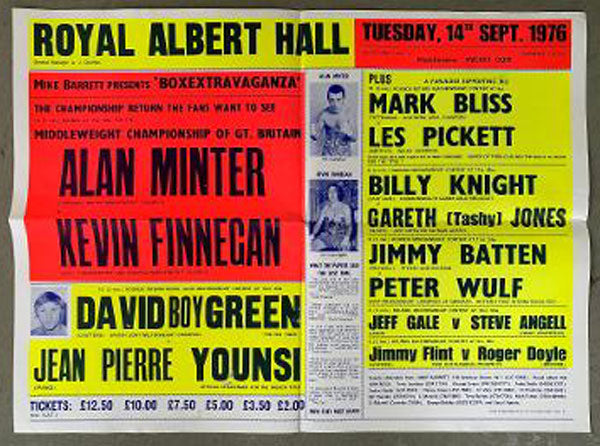 MINTER, ALAN-KEVIN FINNEGAN ON SITE POSTER (1976)