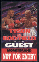 TYSON, MIKE-EVANDER HOLYFIELD II VIP GUEST CREDENTIAL (1997)