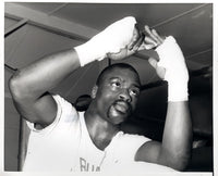 "CARTER, RUBIN ""HURRICANE"" ORIGINAL TRAINING PHOTO"