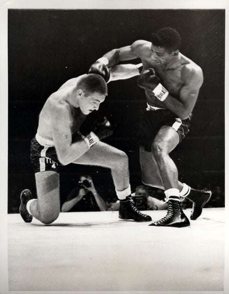 PATTERSON, FLOYD-TOM MCNEELEY WIRE PHOTO (1961)