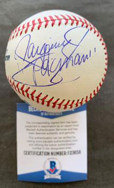 PACQUIAO, MANNY SIGNED BASEBALL (BECKETT AUTHENTICATED)