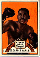 Charles, Ezzard Signed Ringside Card