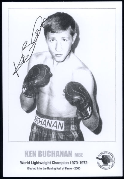 BUCHANAN, KEN SIGNED PHOTO