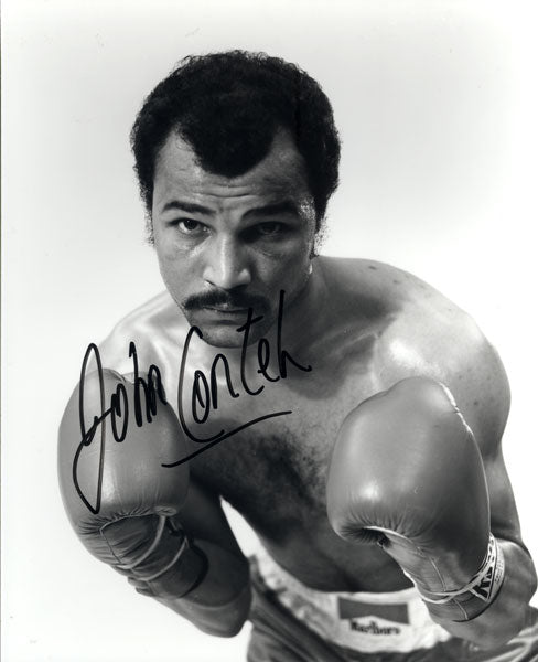 CONTEH, JOHN SIGNED PHOTO