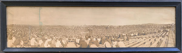 DEMPSEY, JACK-TOMMY GIBBONS ORIGINAL PANORAMA PHOTOGRAPH (1923)