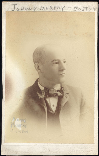 MURPHY, JOHNNY ORIGINAL PANEL CARD PHOTO (CIRCA 1880's)