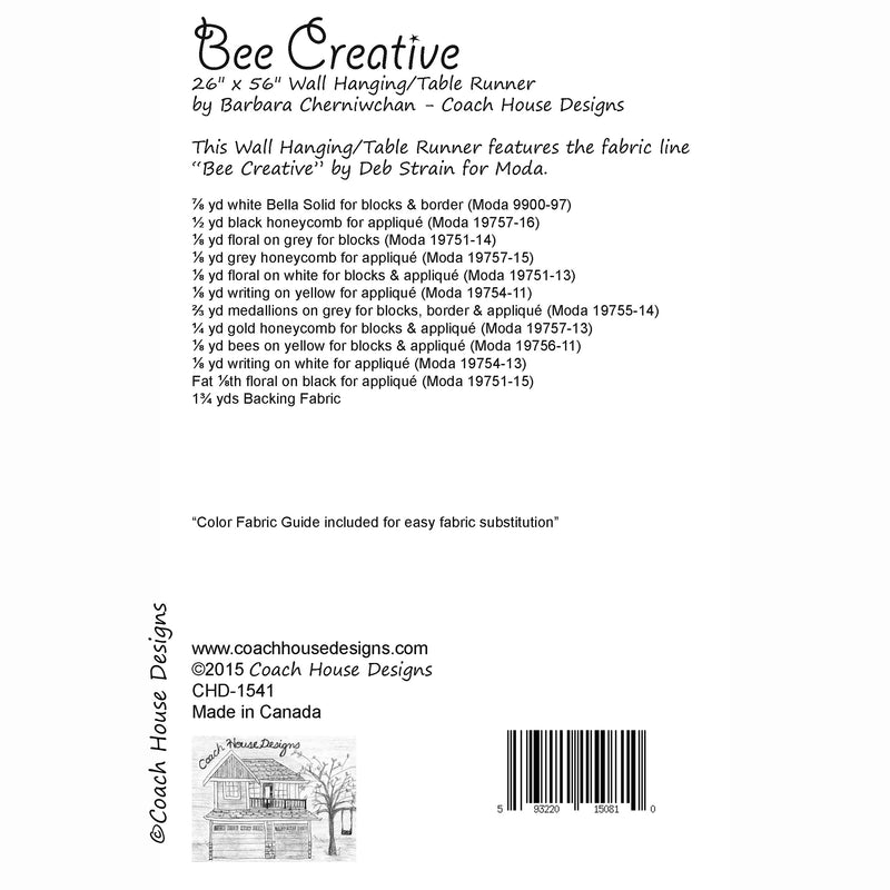 Bee Creative Digital Pattern