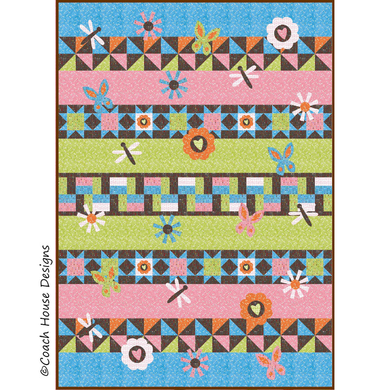 Butterflies in the Meadow Digital Pattern