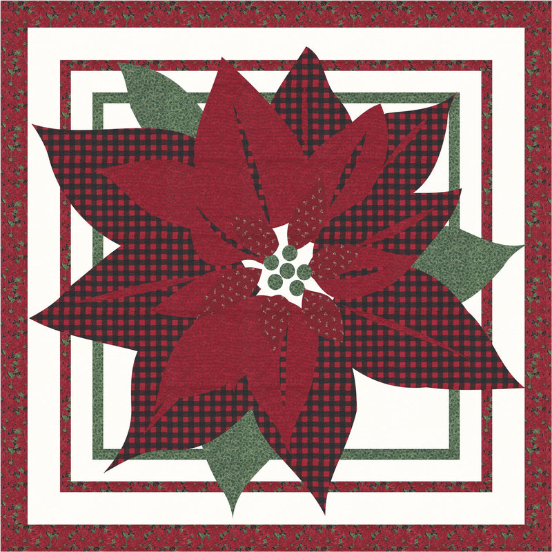 Christmas Bloom Digital Pattern
