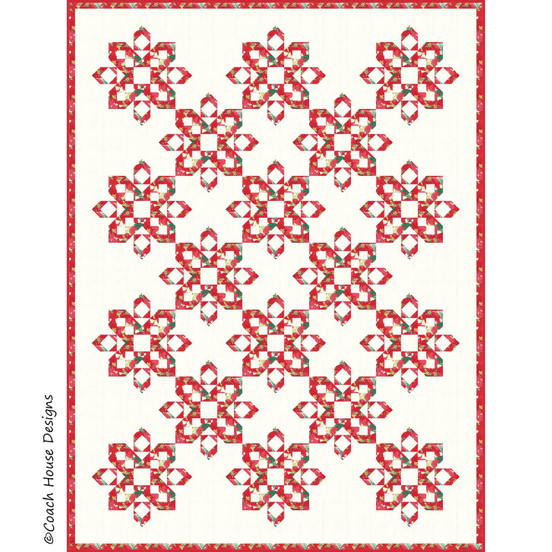 Falling Snow Digital Pattern