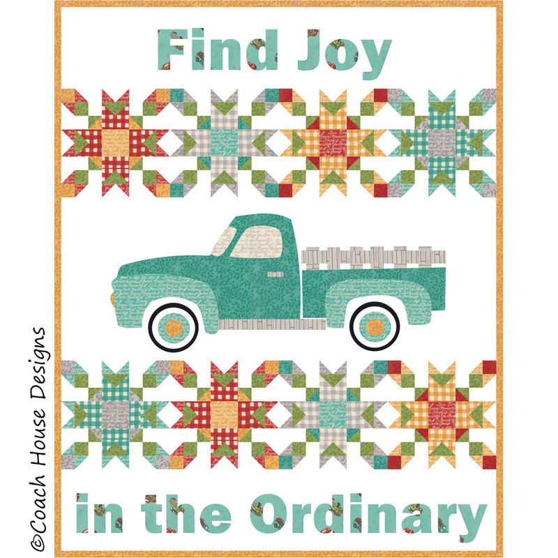 Find Joy in the Ordinary Digital Pattern