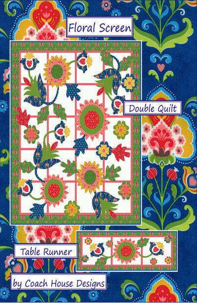 Floral Screen Digital Pattern
