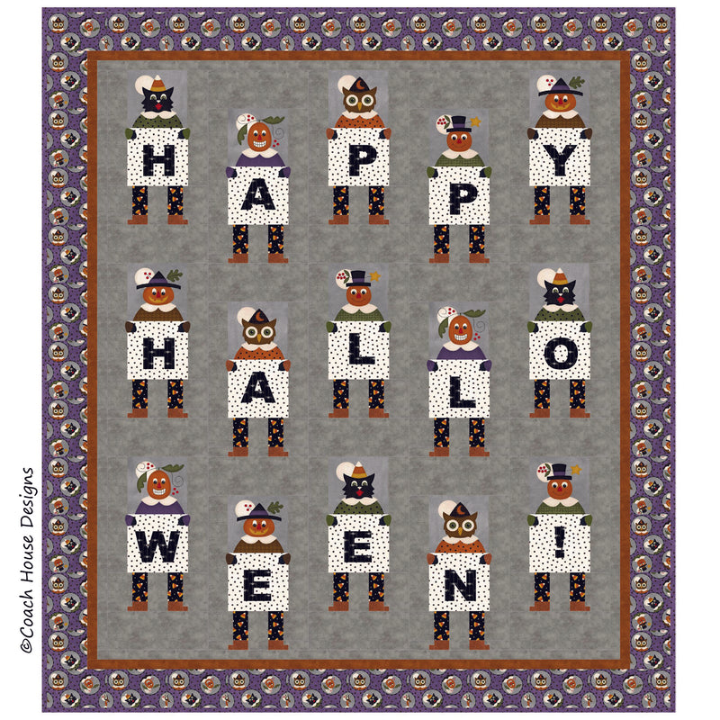 Happy Halloween Digital Pattern