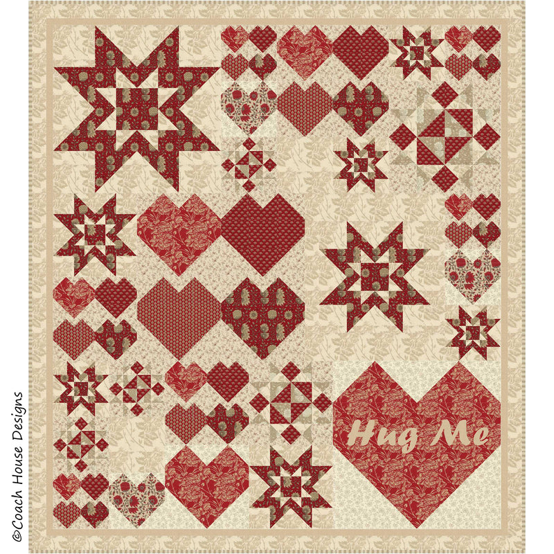 Messages from the Heart Digital Pattern