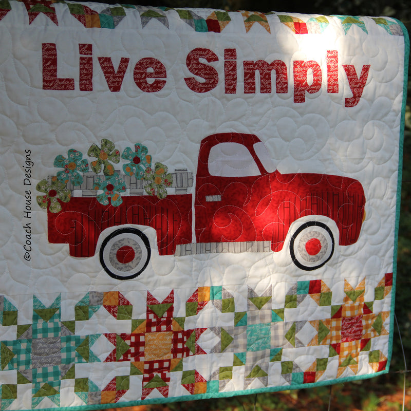 Live Simply Digital Pattern