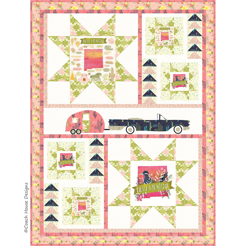 Exploring Route 66 Digital Pattern