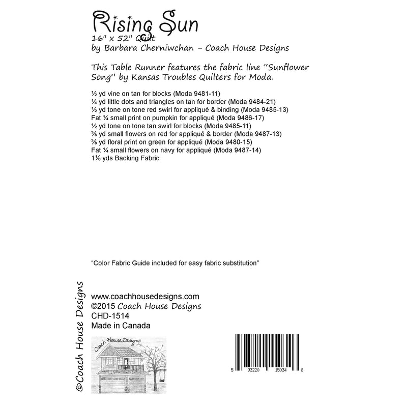 Rising Sun Digital Pattern