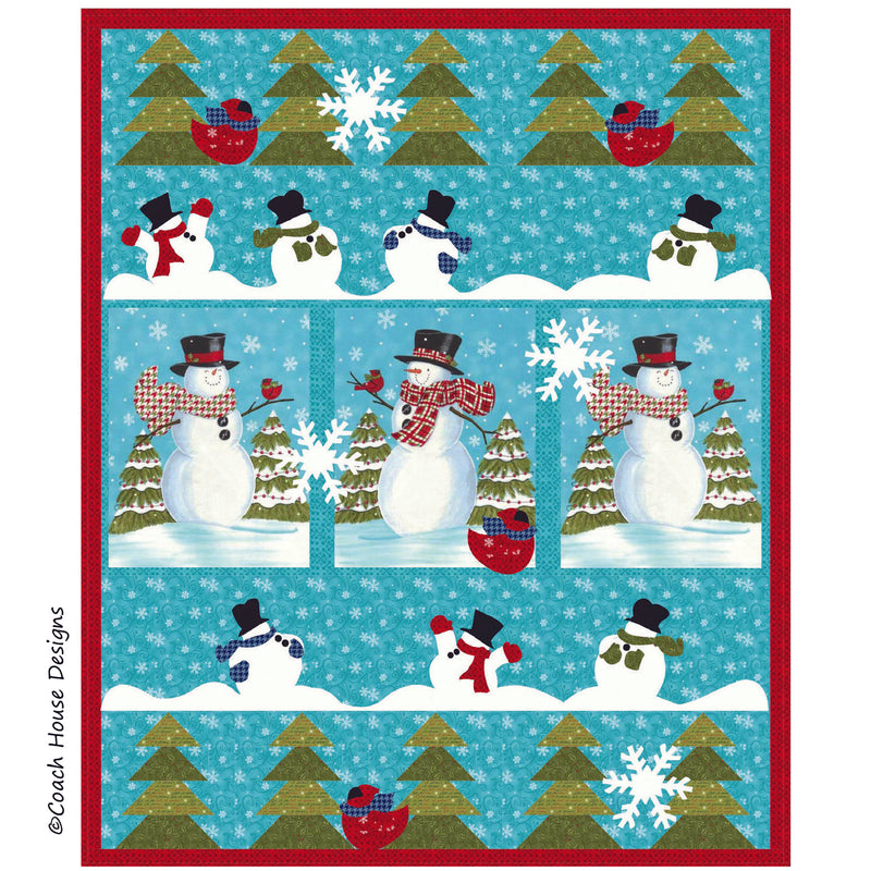 Snow Fun Digital Pattern