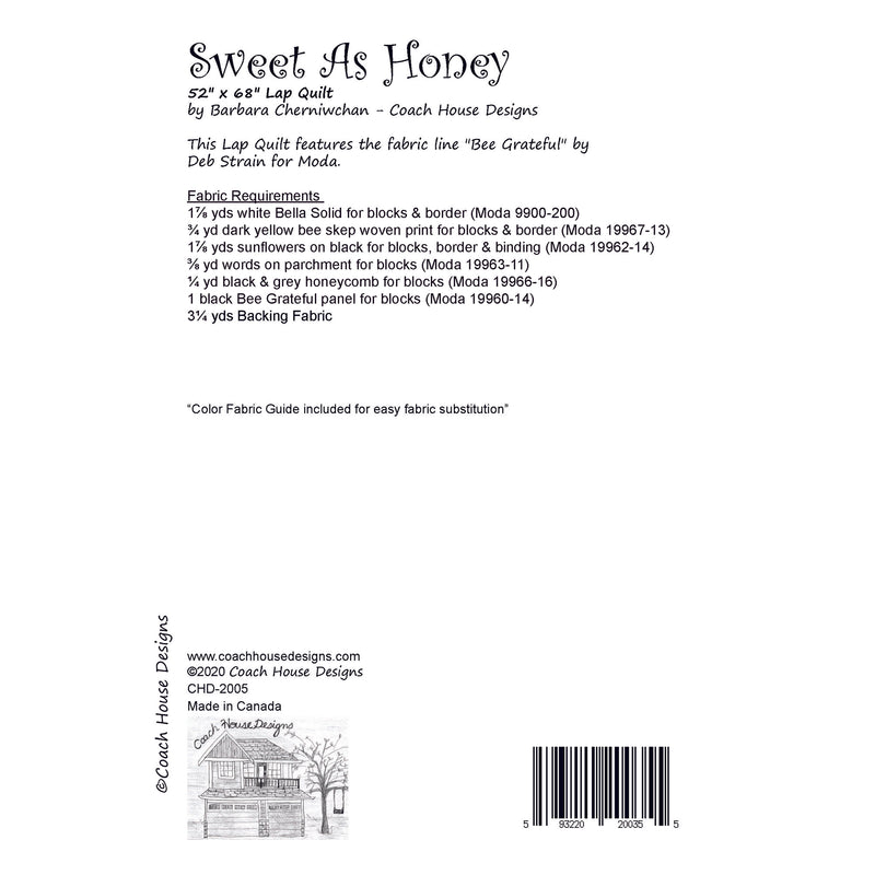 Sweet as Honey Digital Pattern