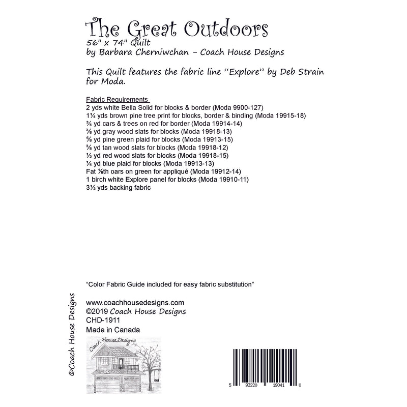 The Great Outdoors Digital Pattern