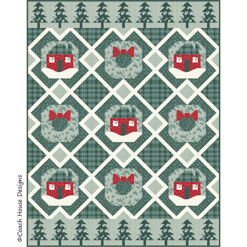 Winter in the Woods Digital Pattern