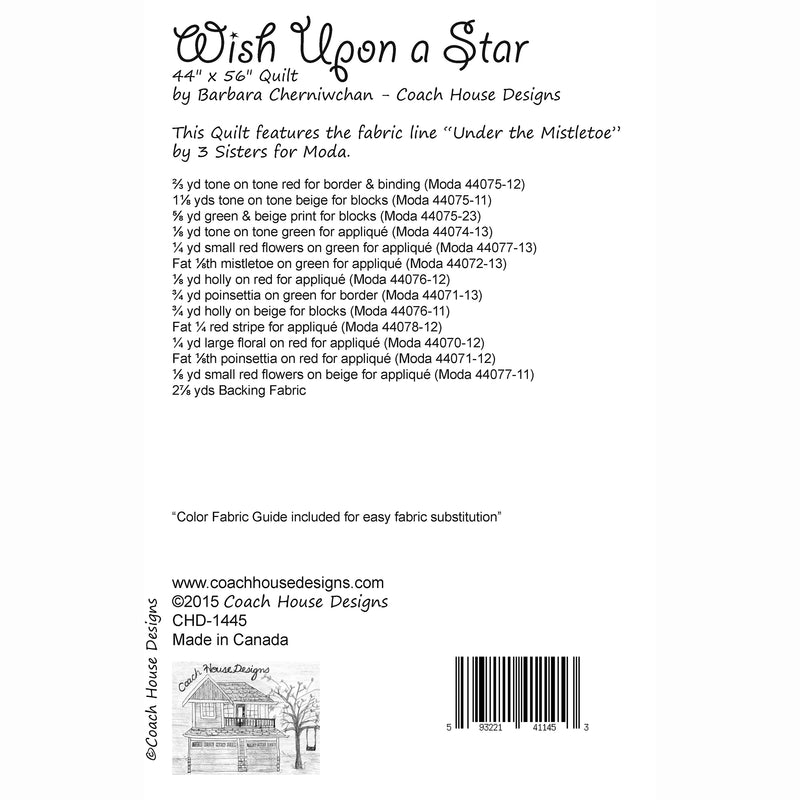 Wish Upon a Star Digital Pattern