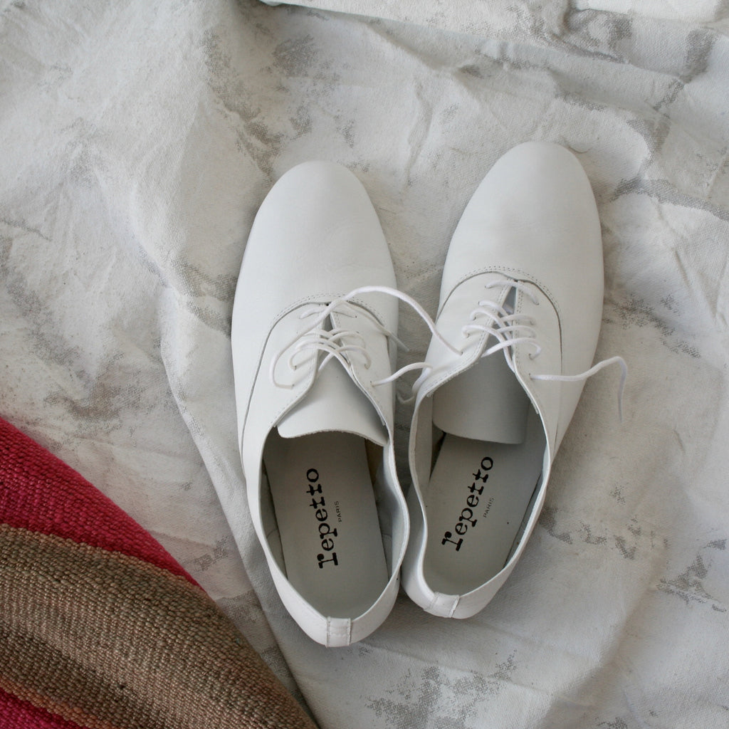 Repetto Jazz Shoes- White